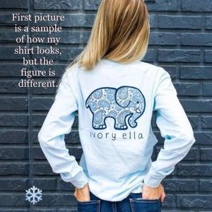 Ivory Ella Limited Edition Release Sleeve Top